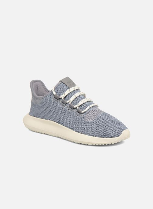 Baskets adidas originals Tubular Shadow J Gris vue détail/paire