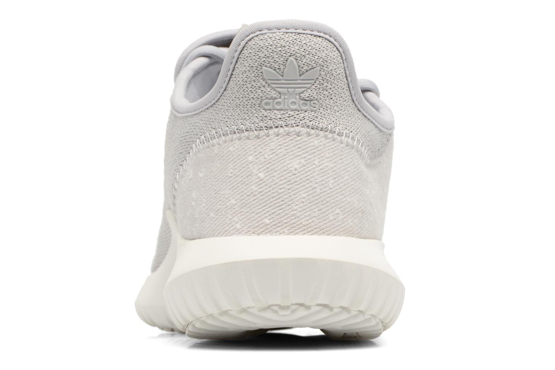 Baskets Adidas Originals Tubular Shadow J Gris vue droite
