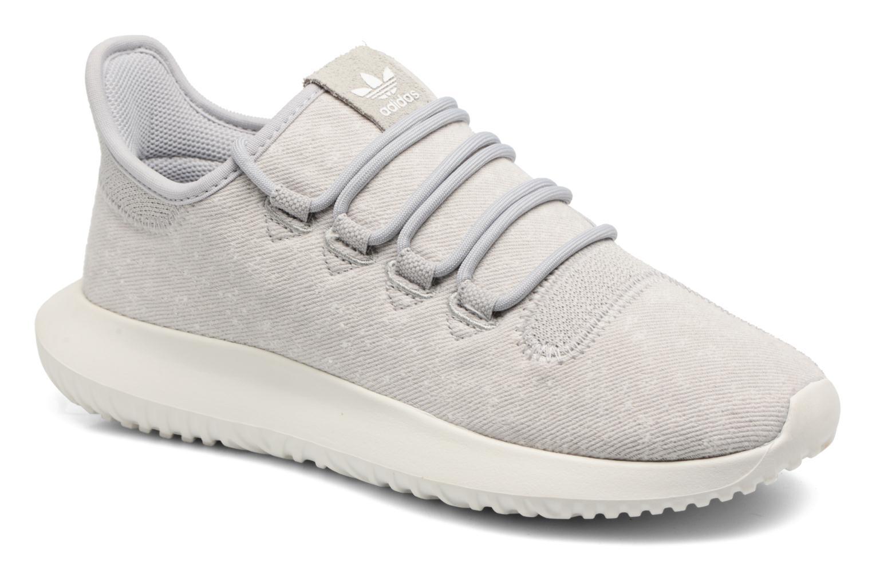 Baskets Adidas Originals Tubular Shadow J Gris vue détail/paire
