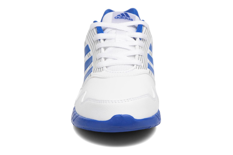 Sportschuhe Adidas Performance Altarun K blau schuhe getragen