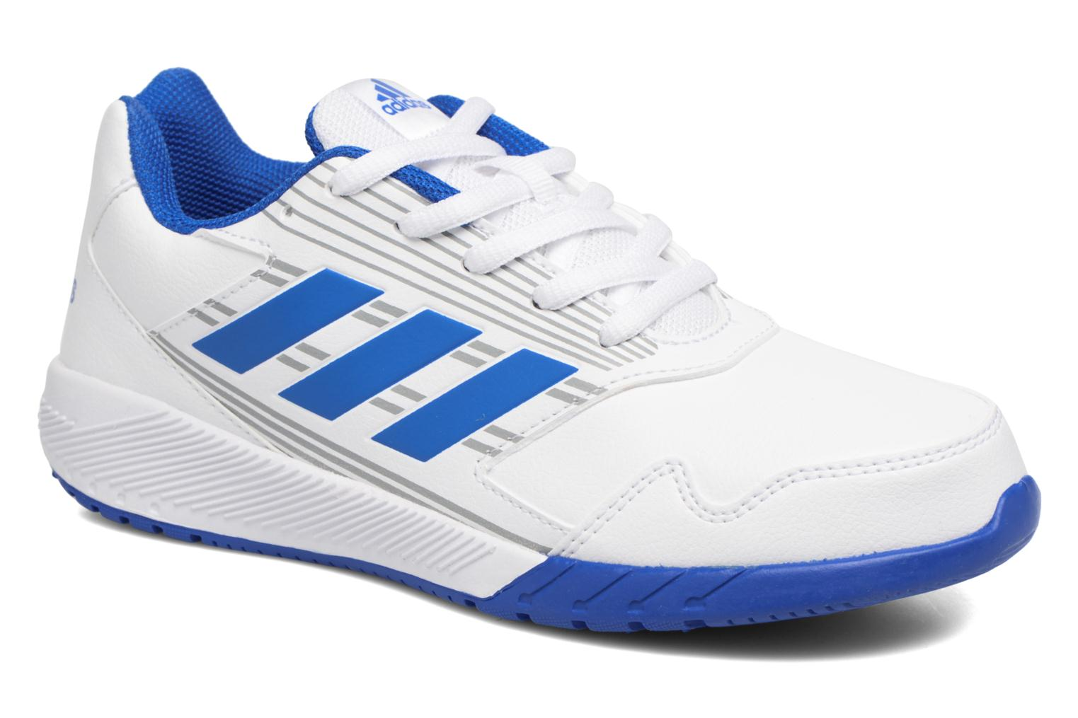 Sport shoes Adidas Performance Altarun K Blue detailed view/ Pair view