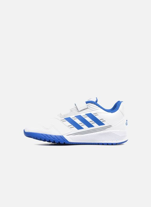 sports shoes f2ade 042dc Baskets Adidas Performance Altarun Cf K Blanc vue face