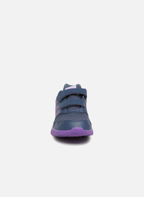 Baskets Adidas Performance Altarun Cf K Gris vue portées chaussures