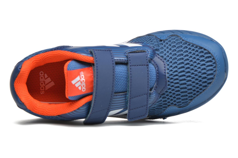Baskets Adidas Performance Altarun Cf K Bleu vue gauche