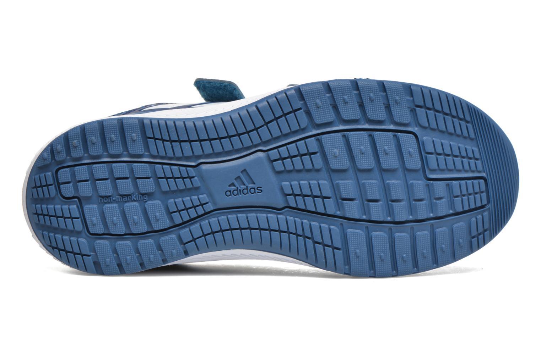 Baskets Adidas Performance Altarun Cf K Bleu vue haut