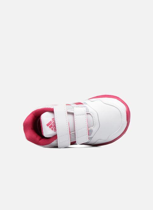 Baskets adidas performance Altarun Cf I Blanc vue gauche