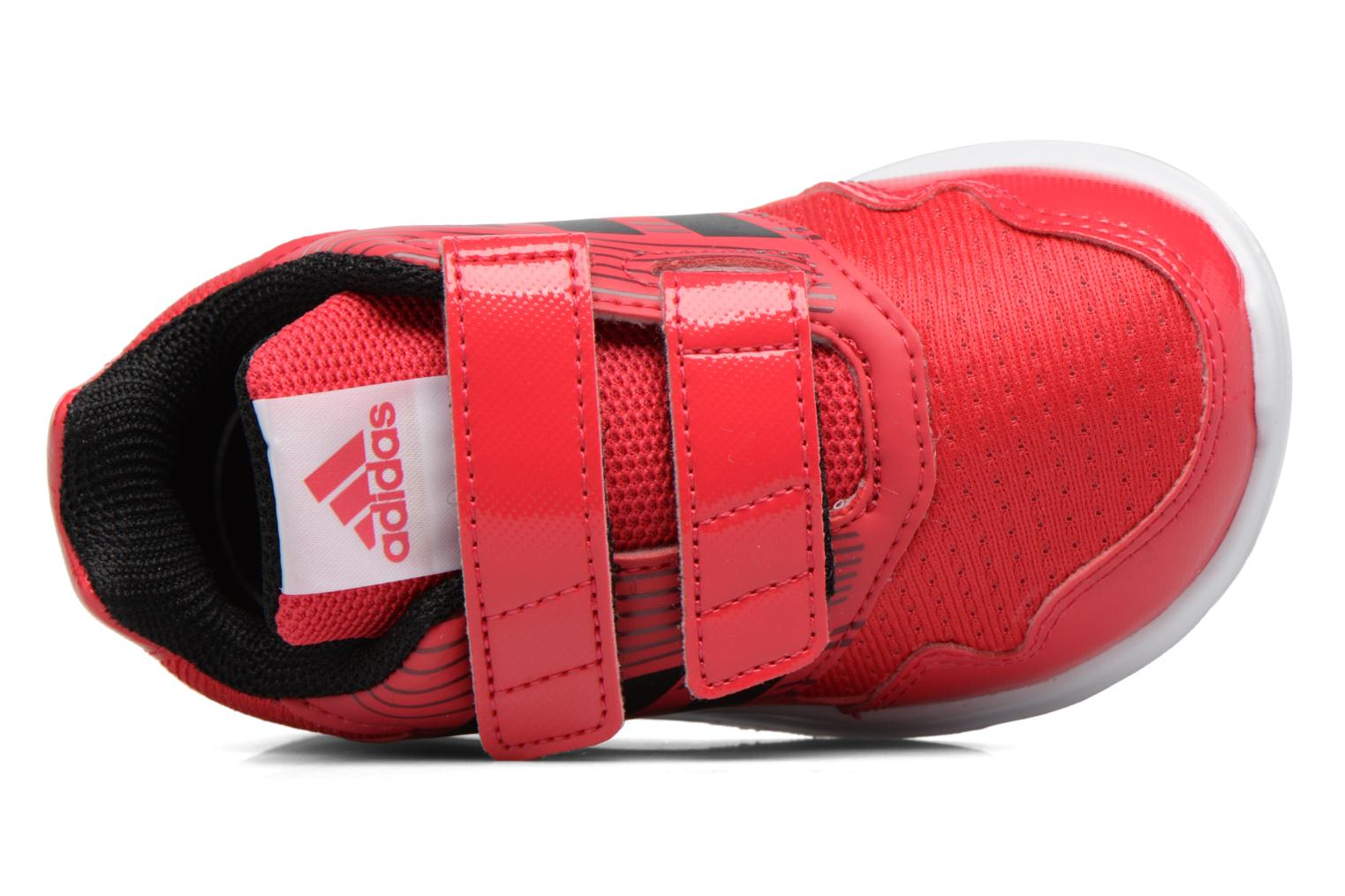 Baskets Adidas Performance Altarun Cf I Rouge vue gauche