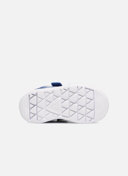 Baskets adidas performance Altasport Cf I Bleu vue haut