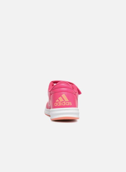 Baskets adidas performance Altasport Cf K Rose vue droite