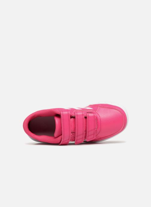 Baskets adidas performance Altasport Cf K Rose vue gauche