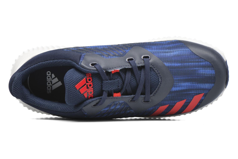 Sneakers Adidas Performance Fortarun K Blå se fra venstre