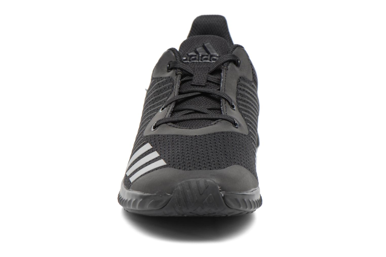 Baskets Adidas Performance Fortarun K Noir vue portées chaussures