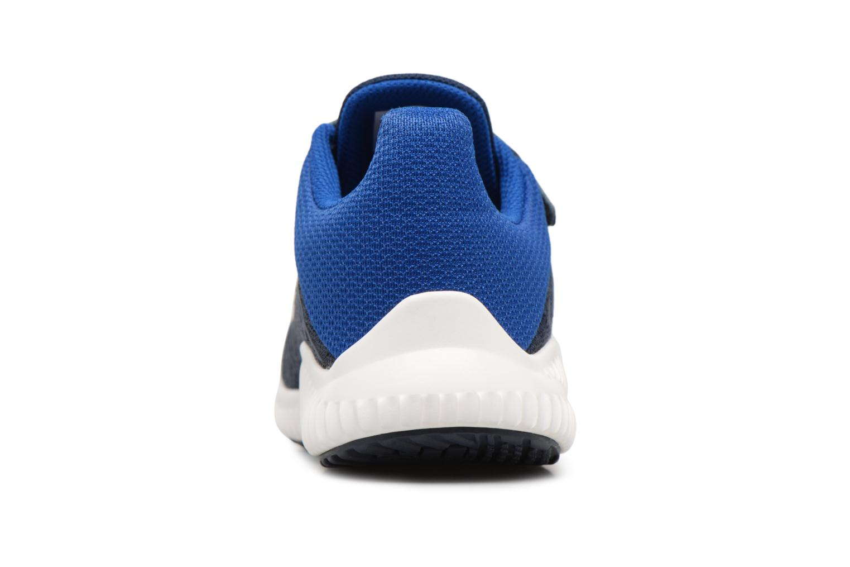 Baskets Adidas Performance Fortarun Cf K Bleu vue droite