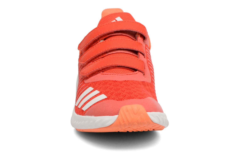 Trainers Adidas Performance Fortarun Cf K Orange model view
