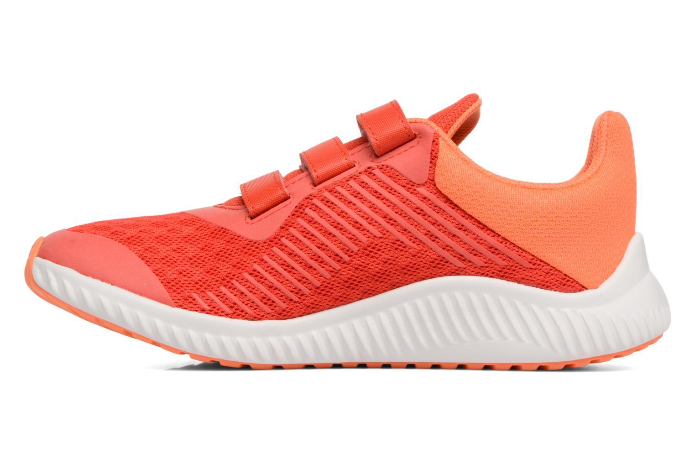 Trainers Adidas Performance Fortarun Cf K Orange front view