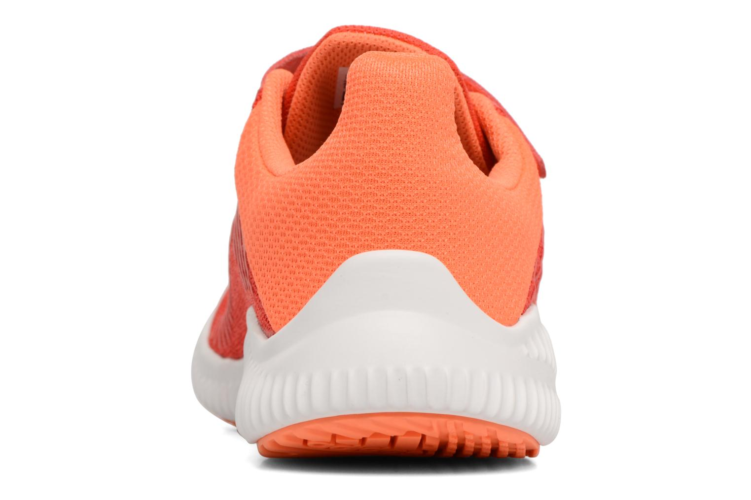 Trainers Adidas Performance Fortarun Cf K Orange view from the right
