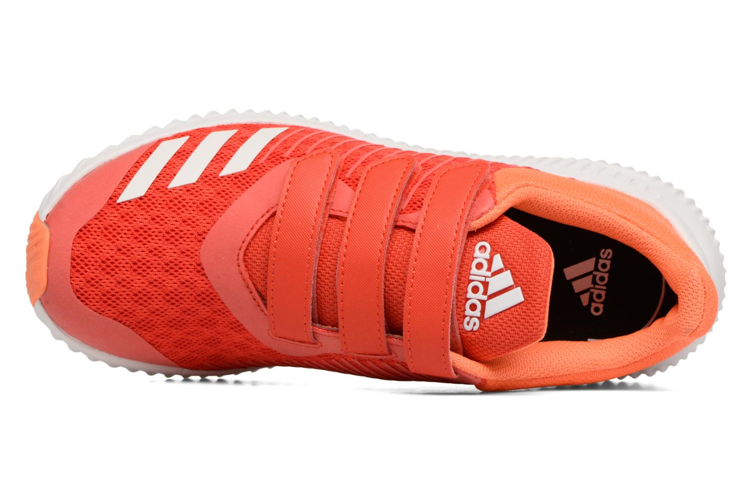 Trainers Adidas Performance Fortarun Cf K Orange view from the left