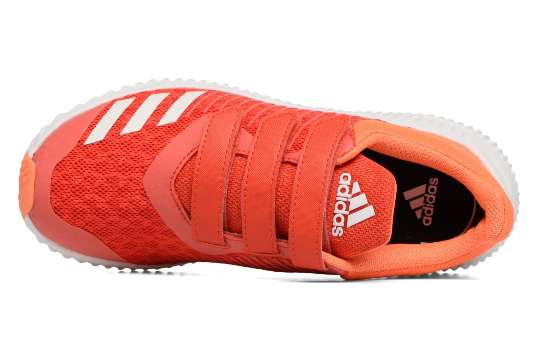 Sneakers Adidas Performance Fortarun Cf K Arancione immagine sinistra