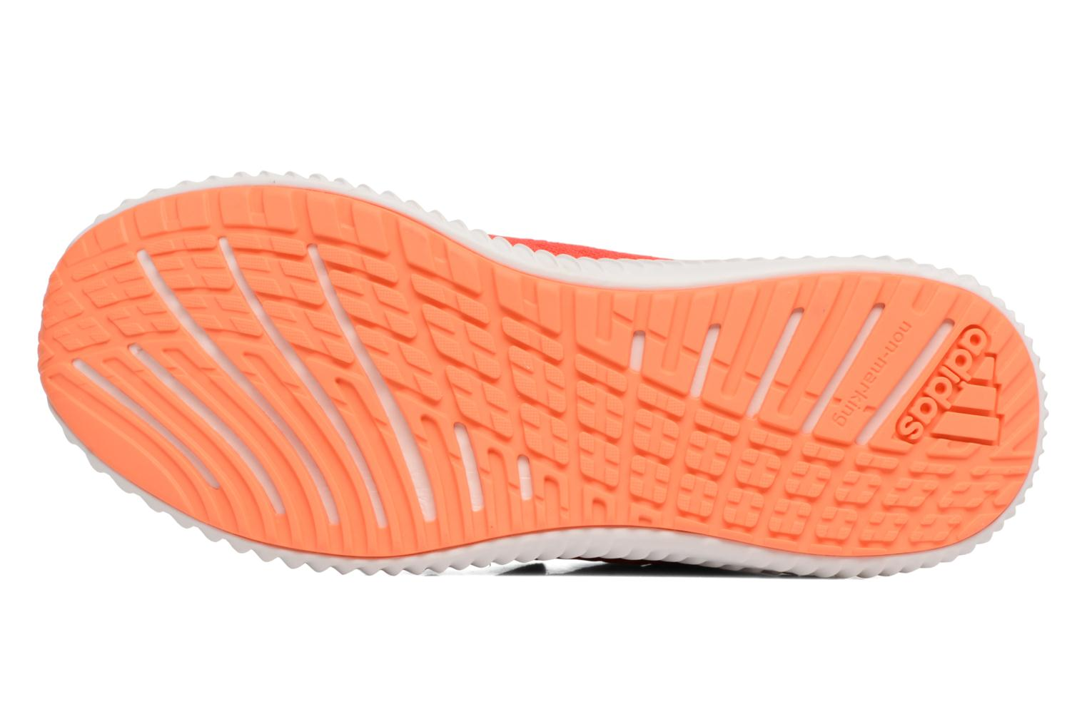 Trainers Adidas Performance Fortarun Cf K Orange view from above
