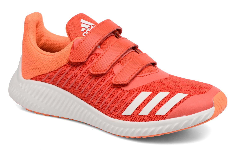 Trainers Adidas Performance Fortarun Cf K Orange detailed view/ Pair view