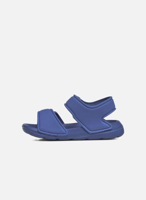 Sandalen adidas performance Altaswim I Blauw voorkant