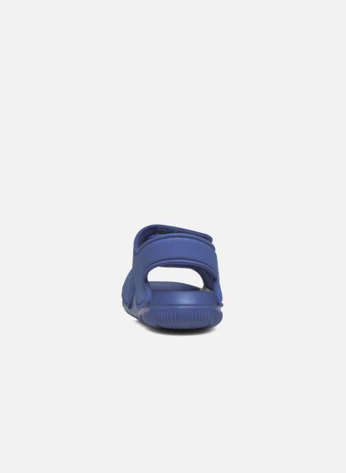 Sandalen adidas performance Altaswim I blau ansicht von rechts