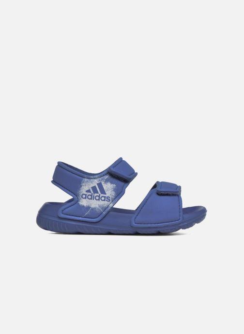Sandalen adidas performance Altaswim I blau ansicht von hinten