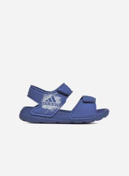 Sandalen adidas performance Altaswim I Blauw achterkant