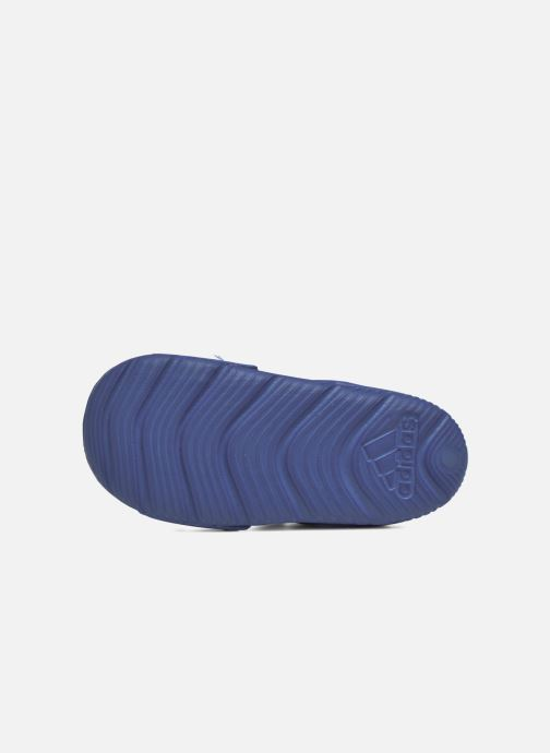 Sandalen adidas performance Altaswim I Blauw links