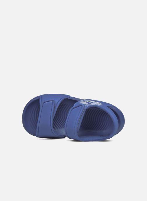 Sandalen adidas performance Altaswim I blau ansicht von oben