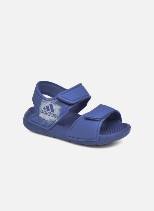 Sandalen adidas performance Altaswim I Blauw detail