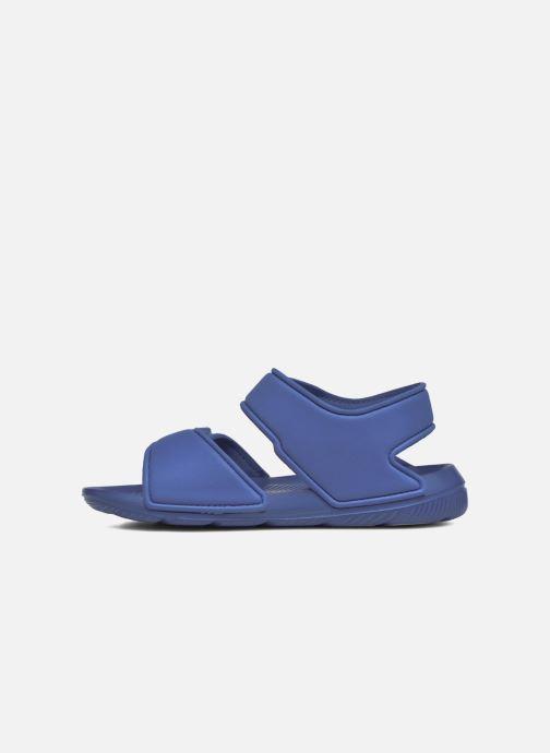 Sandalias adidas performance Altaswim C Azul vista de frente