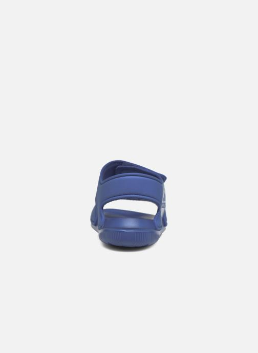 Sandalias adidas performance Altaswim C Azul vista lateral derecha