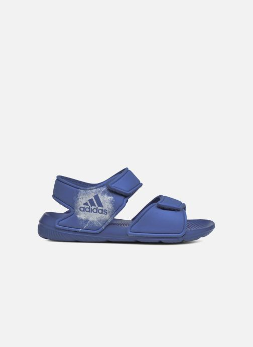 Sandalias adidas performance Altaswim C Azul vistra trasera