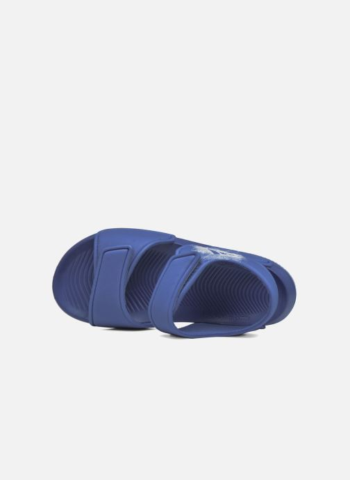 Sandalias adidas performance Altaswim C Azul vista lateral izquierda