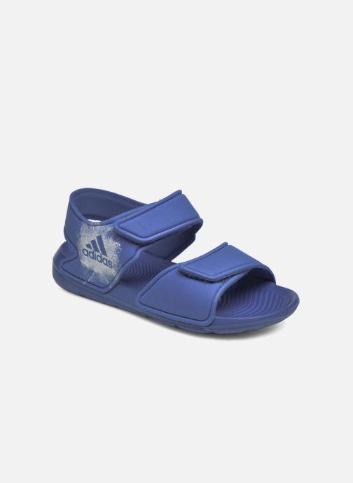 Sandalias adidas performance Altaswim C Azul vista de detalle / par