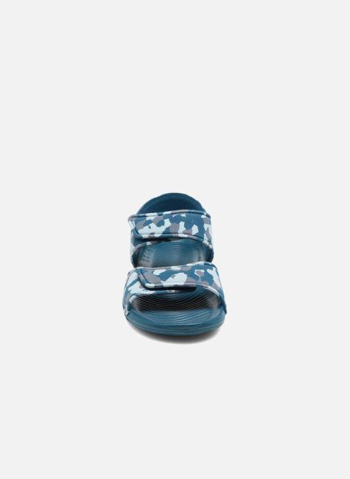 Sandalen Adidas Performance Altaswim C blau schuhe getragen