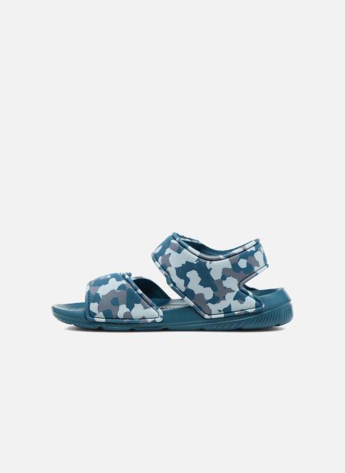 Sandalen Adidas Performance Altaswim C blau ansicht von vorne
