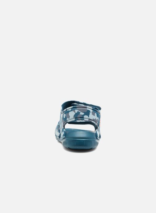 Sandals adidas performance Altaswim C Blue view from the right