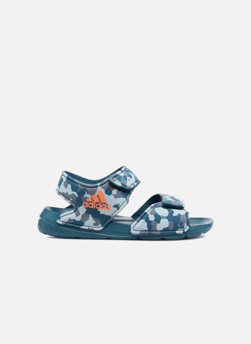 Sandalen adidas performance Altaswim C Blauw achterkant
