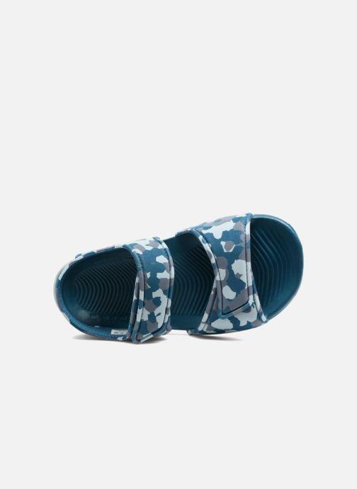Sandalen Adidas Performance Altaswim C blau ansicht von links