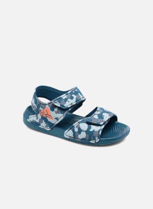Sandals adidas performance Altaswim C Blue detailed view/ Pair view