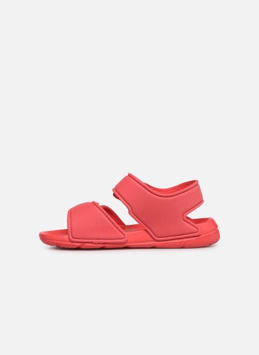 Sandales et nu-pieds adidas performance Altaswim C Rose vue face