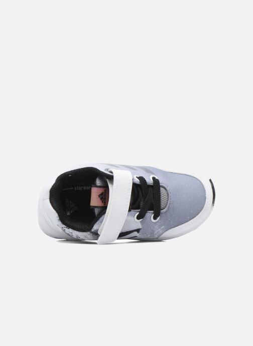 Baskets adidas performance Star Wars El I Blanc vue gauche