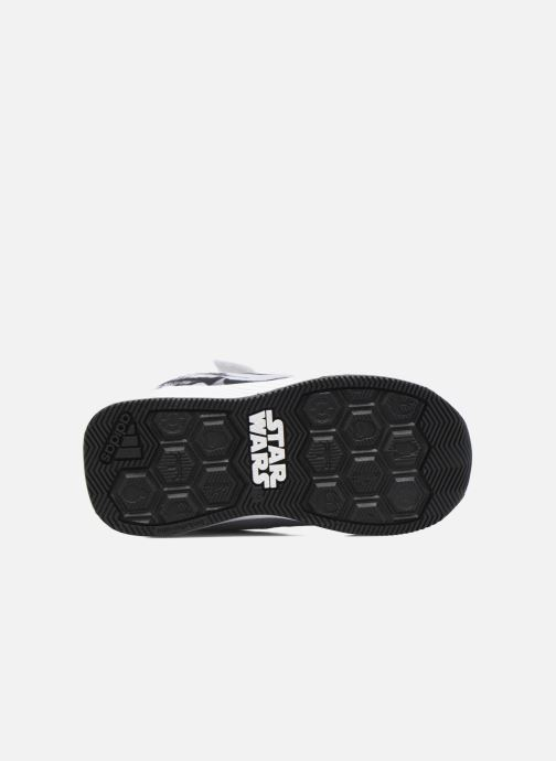 Baskets adidas performance Star Wars El I Blanc vue haut