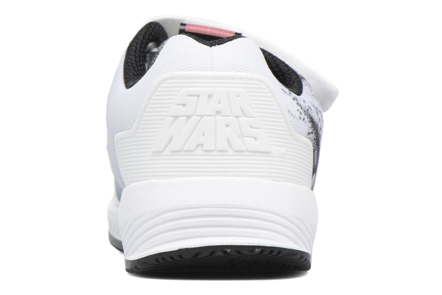 Baskets Adidas Performance Star Wars El I Blanc vue droite
