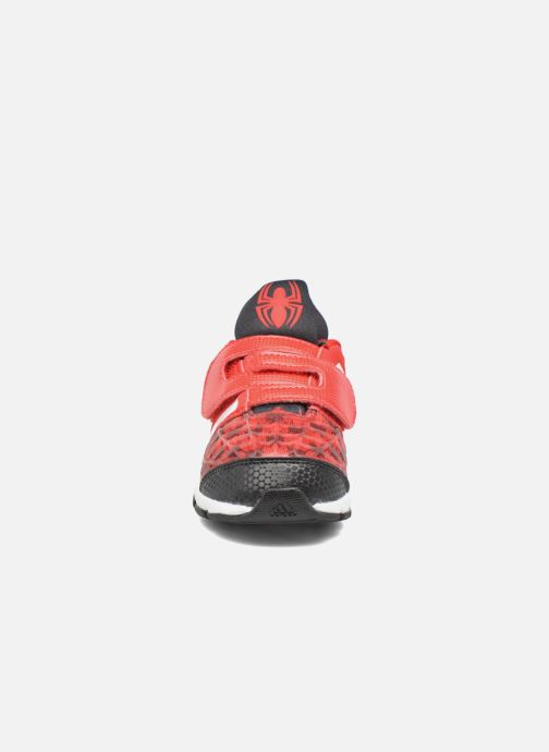 Baskets adidas performance Marvel Spider-Man Cf I Rouge vue portées chaussures