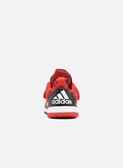 Baskets adidas performance Marvel Spider-Man Cf I Rouge vue droite