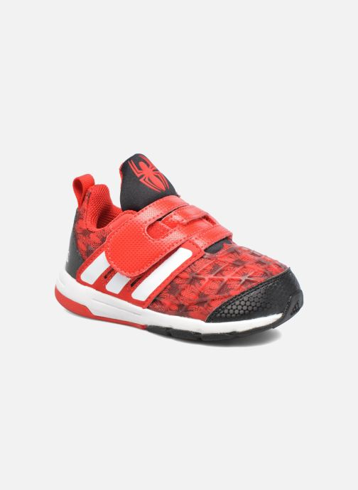 c37a285ebb2 Trainers Adidas Performance Marvel Spider-Man Cf I Red detailed view/ Pair  view