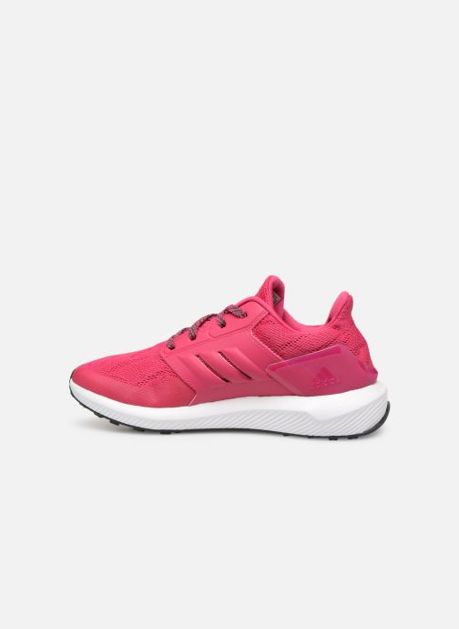 Baskets adidas performance Rapidarun K Rose vue face